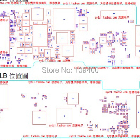 for Foxconn for iPad 4 4g Genuine Original Schematic Diagram Components Distribution Diagram Repair Drawing schematic zenfone 4 the wiring diagram readingrat net asus wiring diagram at gsmx.co