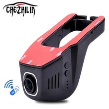 Универсальный Автомобильный видеорегистратор Wi-Fi Камера Автомобильные видеорегистраторы видеорегистратор монитор регистраторы черный ящик видеокамера Новатэк 96658 IMX322 Full HD 1080 P