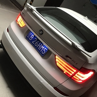 For BMW 5 series gt f07 Spoiler ABS Material Car Rear Wing Primer Color Rear Spoiler For BMW GT style 530d 535d 535i 550i Spoile