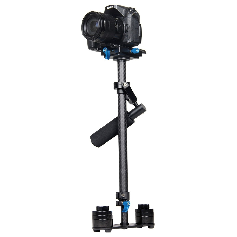 YELANGU S60T steadycam Scalable Carbon Fiber Tripod Handheld Stabilizer for Steadicam for Canon DSLR font b