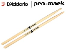 Promark by D'addario FBH535TW Select Balance Forward Balance Hickory Tear Drop Drumsticks, .535″ (7A)
