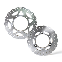 Motorcycle Front Rear Brake Disc Rotor for Kawasaki Ninja 250 SL ABS EX250 Z250 Z300 2015 2017 NINJA 300 EX300 2013 UP