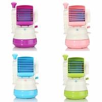 Water Fog Mini Cooling Fan Usb Mini Quiet Fan Spray Humidifier Circular Cooler Small Spray Fan