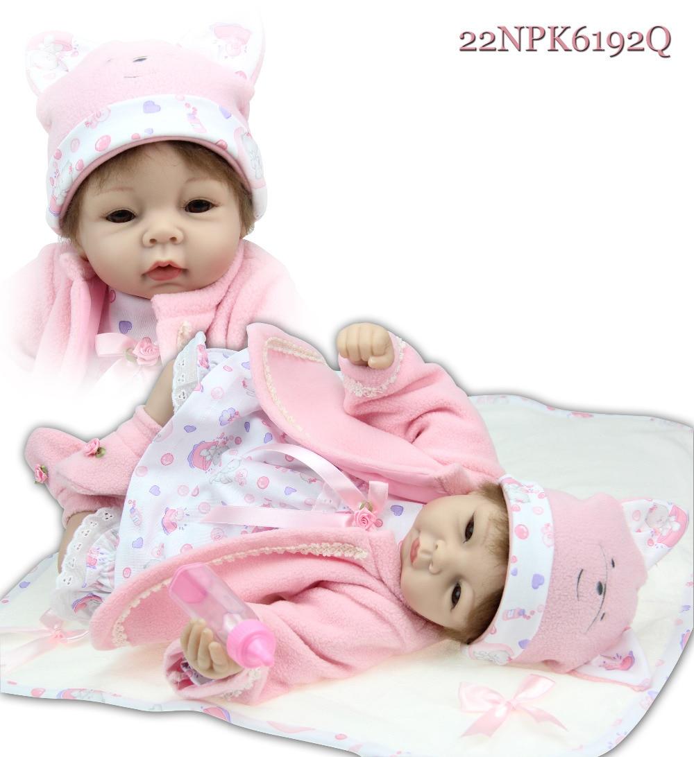 Free Shipping Hot Sale Lifelike Reborn Baby Doll Wholesale Baby Dolls Fashion Doll Christamas Gift Newborn Baby Doll Doll Wallet Baby Doll Bathtubdoll Kitty Aliexpress