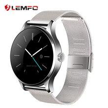 K88H Reloj Inteligente Bluetooth Monitor de ritmo cardíaco  Sincronizar la información del teléfono para el sistema Android y IOS