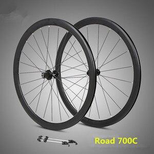 Сверхлегкий колесный набор 700C, алюминиевый сплав, дорожный велосипед, герметичный подшипник, колеса 36 мм