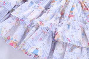 Image 5 - spring baby girls dresses rufles long sleeve spanish vintage lolita rabbit bunny kids outfit childrens clothing boutiques