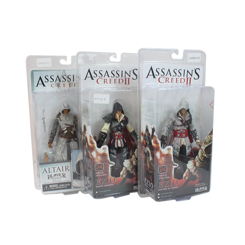 CF Assassins Creed PVC Action Figure Game Character Altar Ezio Ezio Auditore Model Toy Doll Collectible Brinquedos 5 Style assassins creed connor action figure iii game toys assassin creed 260mm pvc anime collectible action figures assassin creed toy