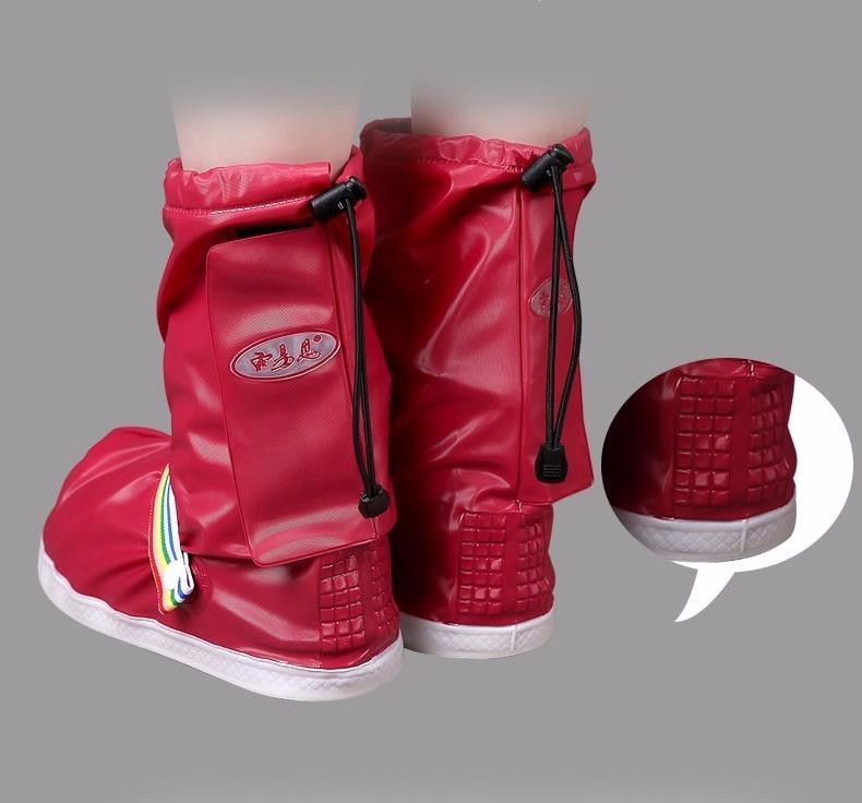 Fashionable and Waterproof Shoe Made of PVC for Women and Men Suitable for Mud Beach and Snow to Keep the Shoes Clean 9