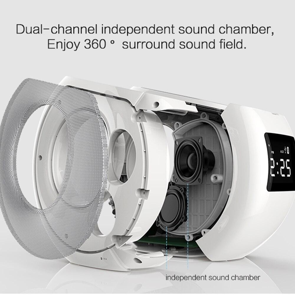 Qi chargeur sans fil Nillkin MC1 Bluetooth haut-parleur horloge alarme sans fil chargeur musique surround haut-parleur chargeur pour iPhone X Mi 9 - 3