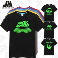 Arctic Monkeys Sound Wave Men T Shirt Tee Top Indie Rock And Roll Band Sheffield UK