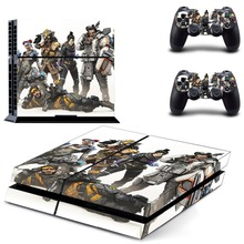 APEX Legends PS4 Skin Sticker Decal For PlayStation 4 Console and 2 Controllers PS4 Skins Sticker Decal