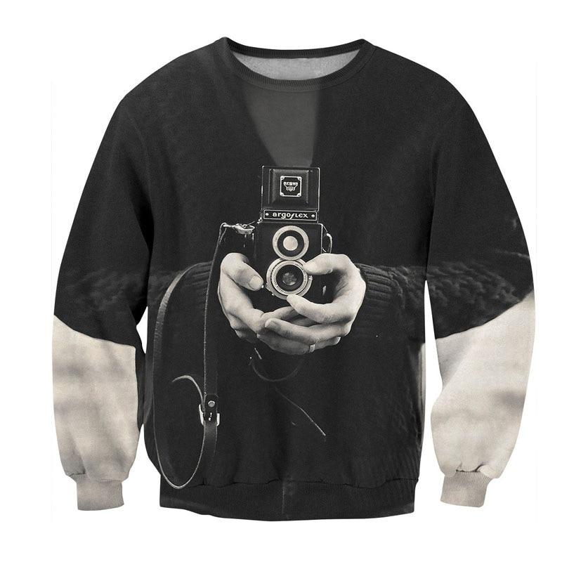 Retro Camera 3D Sweatshirt