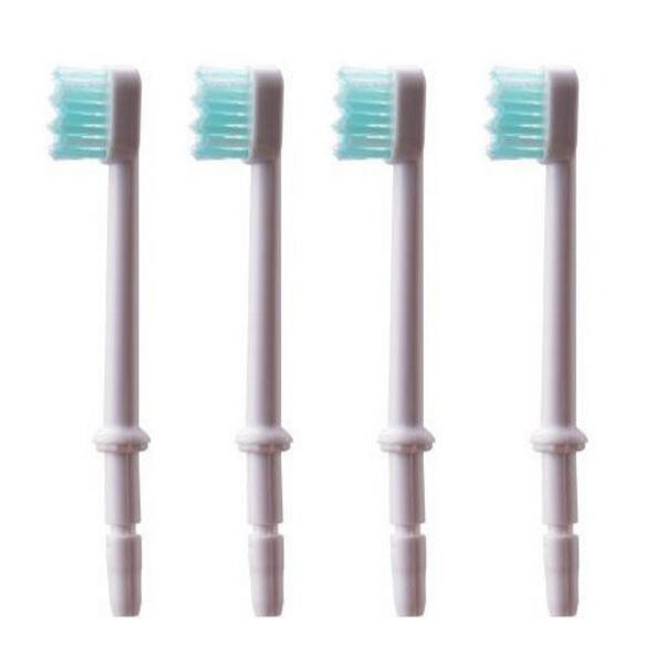 1 pc embout de tête de brosse à dents pour buse de soie dentaire accessoire dirrigateur Oral embouts de remplacement dhygiène dentaire