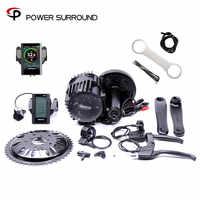 Real Bicicleta Eletrica Electric Bike Kit 48v1000w Bbs03/bbshd 8fun Bafang Mid Drive Motor Kits For Electric Or Fat Ebike