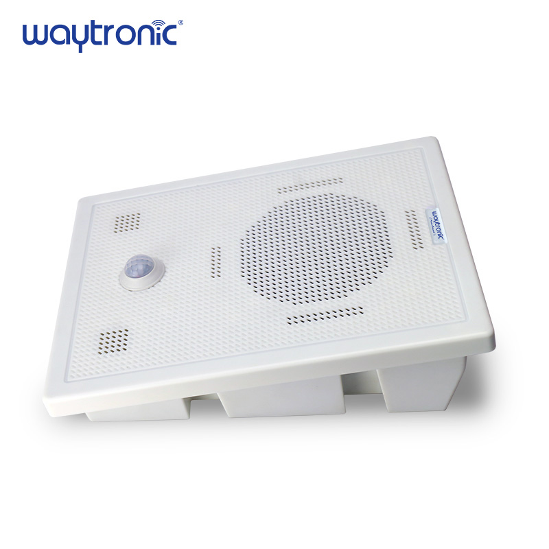 Big Power Motion Sensor Speaker with Bluetooth Wireless Voice Replacement Audio Recordable for Safety Voice Reminder Loud Sound