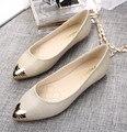 Женская Обувь Балетки Женщины Плоские Туфли Женские Балетки Черный Большой Размер 40 Повседневная Обувь Sapato Женщин Мокасины Zapatos Mujer