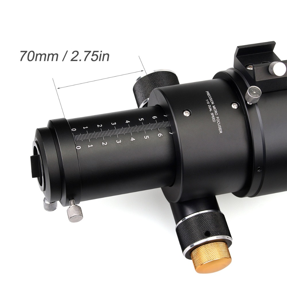 SVBONY SV20 SV48 80/90mm Compact Lunette Astronomique Télescope L'astronomie Monoculaire Optique Tube L'imagerie Clair Guide Star - 5