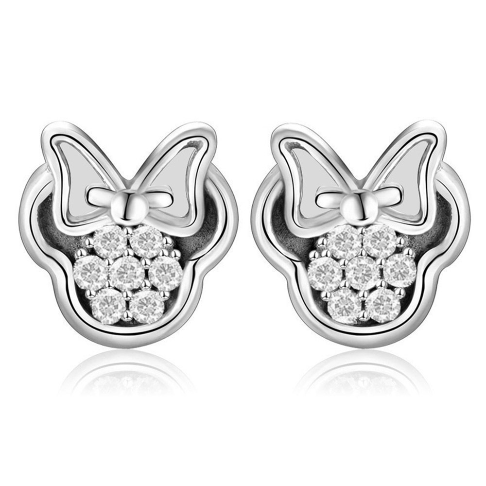 CHIELOYS-Cute-Cartoon-Stud-Earrings-for-Women-Everyday-Jewelry-Gift-Mickey-Minnie-Heart-Crystal-Brand-Earrings