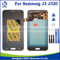 1 pcs alta copiar display lcd com touch screen digitador assembléia para samsung galaxy j3 j320 j320a j320f j320m