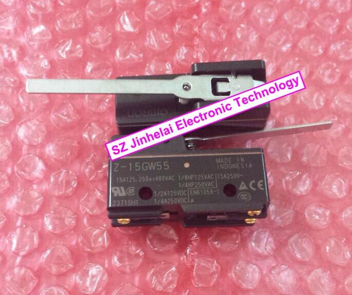 100 New And Original OMRON Z 15GW55 Basic Switch Micro Switch Travel Switch