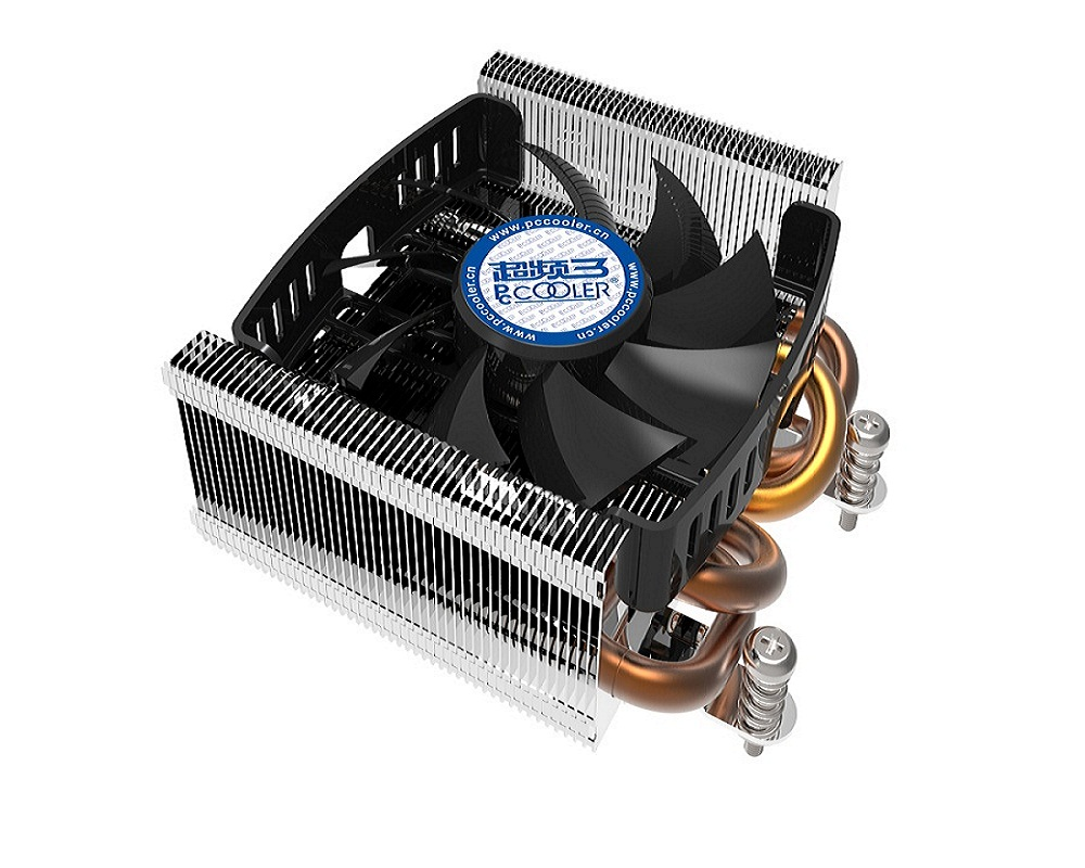 Pccooler S815A pure copper 4 heatpipe 80mm 4pin PWM quiet fan for AMD/AM2/AM2+/AM3/FM1/FM2 CPU cooler fan radiator 4 heatpipe 130w red cpu cooler 3 pin fan heatsink for intel lga2011 amd am2 754 l059 new hot