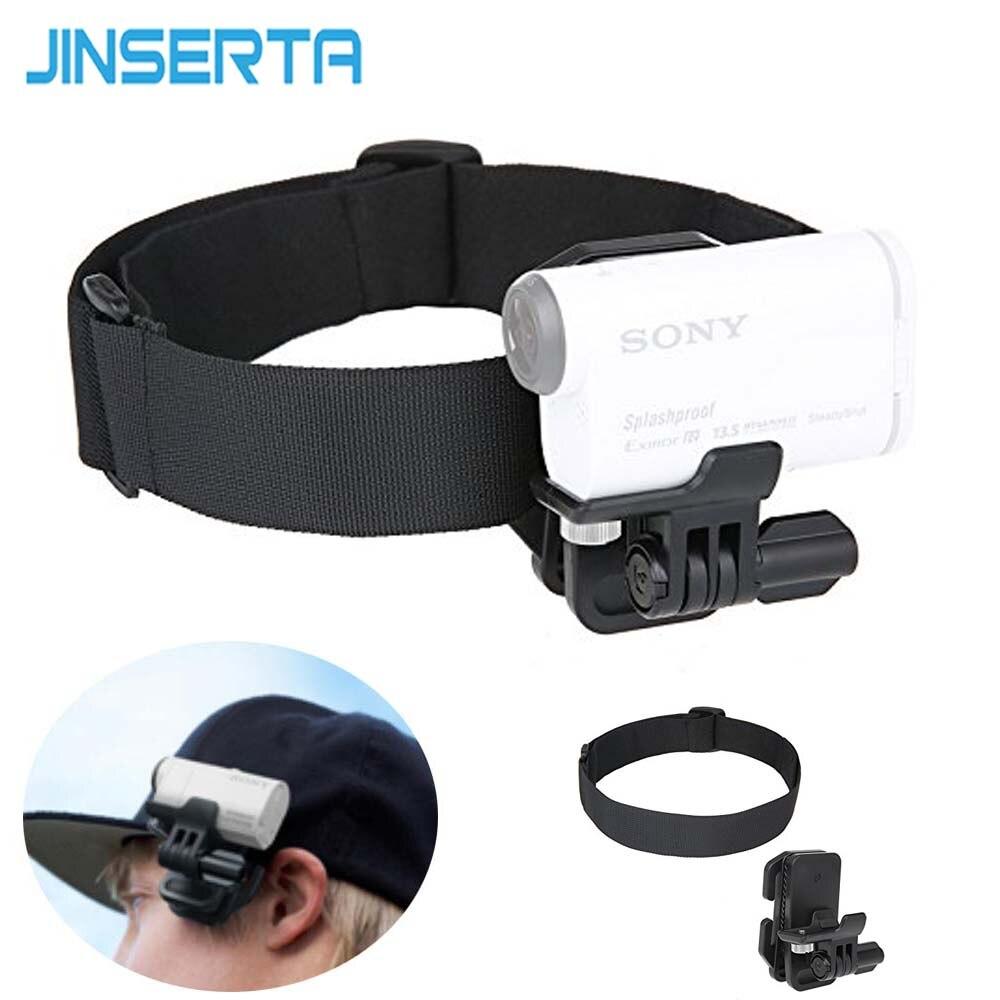 JINSERTA cabeza Correa Clip soporte para Sony venda del sostenedor para Sony Cámara de Acción HDR-AS200V AS100V AS30V AZ1 FDR-X1000VR