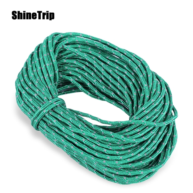 SHINETRIP Outdoor Windproof Rope Reflective Nylon Cord C&ing Gear Tent Rope Tent Accessories  sc 1 st  AliExpress.com & SHINETRIP Outdoor Windproof Rope Reflective Nylon Cord Camping ...