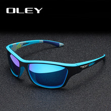 OLEY Polarized Sunglasses Mens Driving Shades Outdoor sports For Men Luxury Brand Designer Oculos Customizable logo YG202