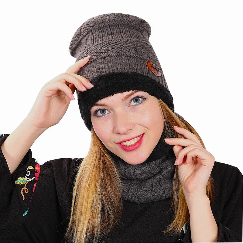 4a3ae4f1759806 2018 Brand Beanies Knit Winter Hats For Men Women Beanie Men's Winter Hat  Caps Bonnet Warm Baggy