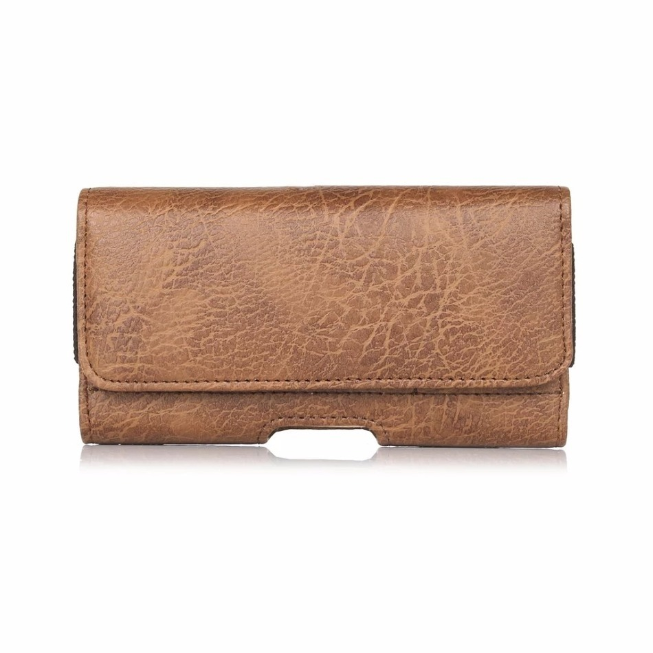 Luxury Stone pattern Waist Holster Bag With Card Slots For sony xperia xa m4 aqua e5 z1 Cover Wallet Case For lg k8 g3s 5.1
