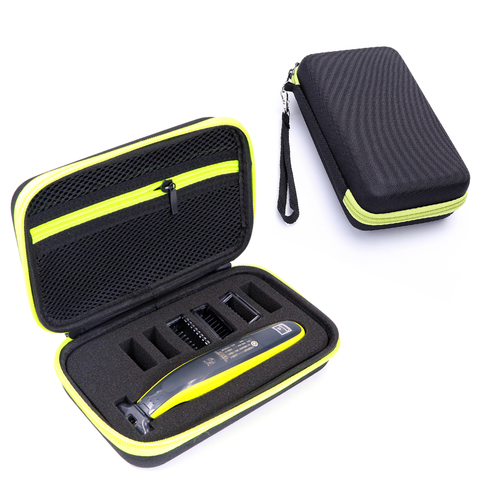 New Hard Case For Philips OneBlade MG3750 7100 Shaver Accessories EVA Travel Bag Storage Pack Box Cover Zipper Pouch With Lining