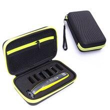 חדש קשה מקרה עבור Philips All in oneblade MG3750 7100 מכונת גילוח אביזרי EVA נסיעות שקית אחסון חבילת תיבת כיסוי רוכסן פאוץ עם רירית