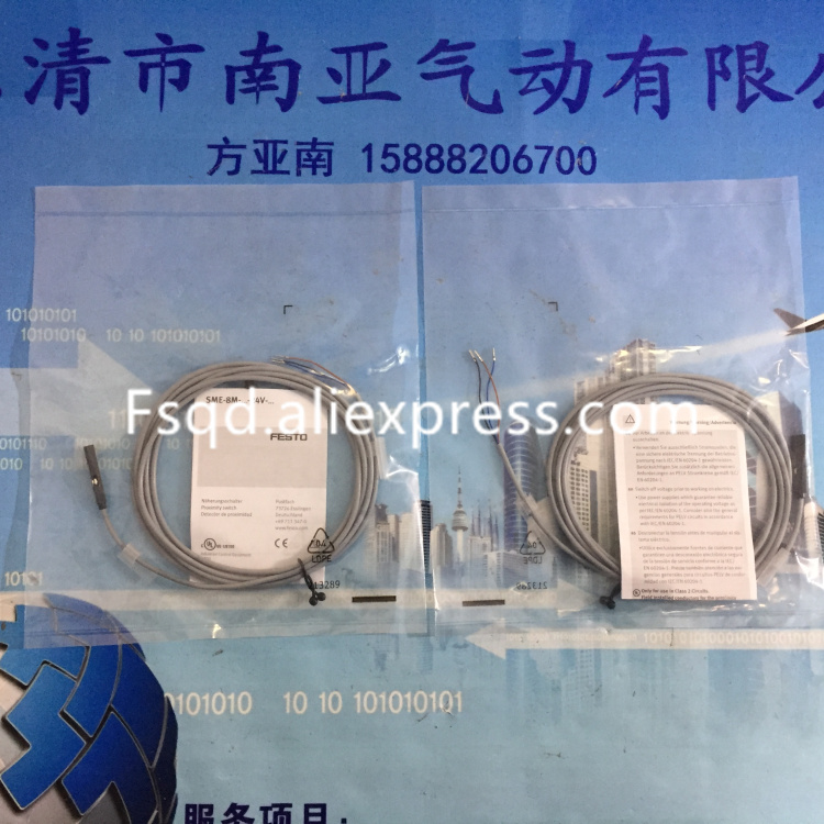 SME-8M-DS-24V-K-2,5-OE 543862 FESTO SMEO-1-LED-24B 30459 pneumatics Magnetic Induction switch Sensor smt 10g ps 24v e 2 5q oe the new magnetic switch