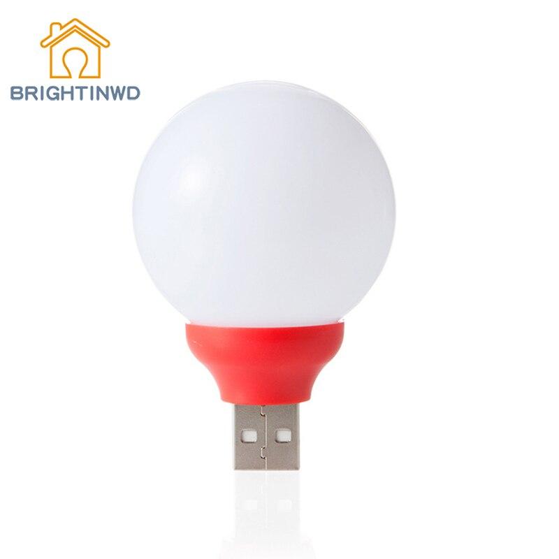 Best Gift Fashion Led Usb Night Light Bulb For Office Bule