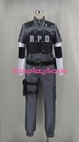 Resident Evil 4 Leon Scott Kennedy RPD Cadılar Bayramı Için Cosplay Kostüm Custome Yapımı CosplayLove
