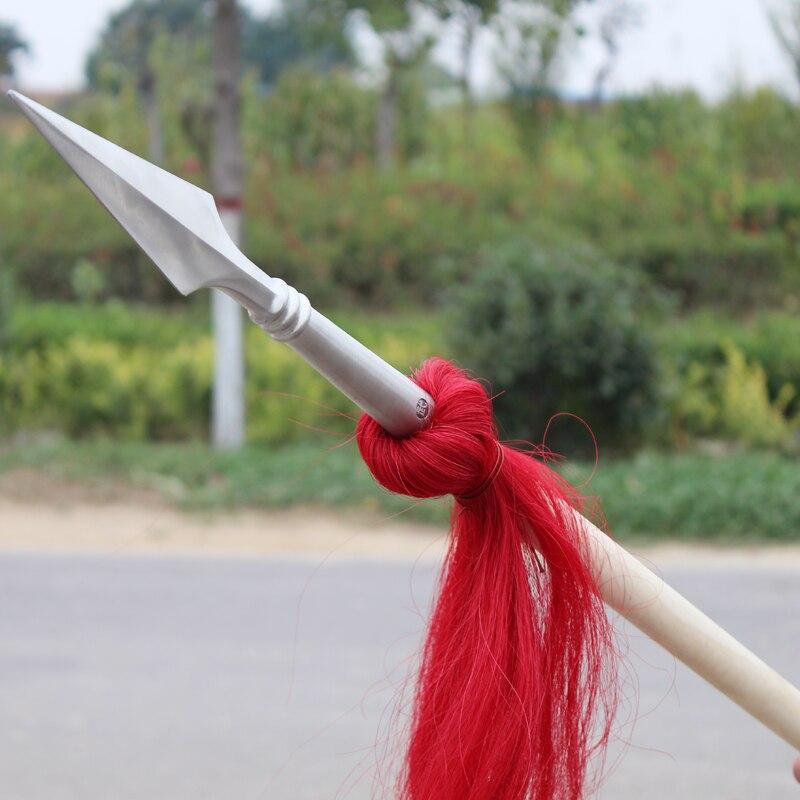Hongying lance Hong Ying pistolet wushu lance art martial lance compétition bâton kung fu personnel wushu taolu bâton