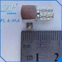 50 шт пневматический быстроразъемный мини соединитель m4  4