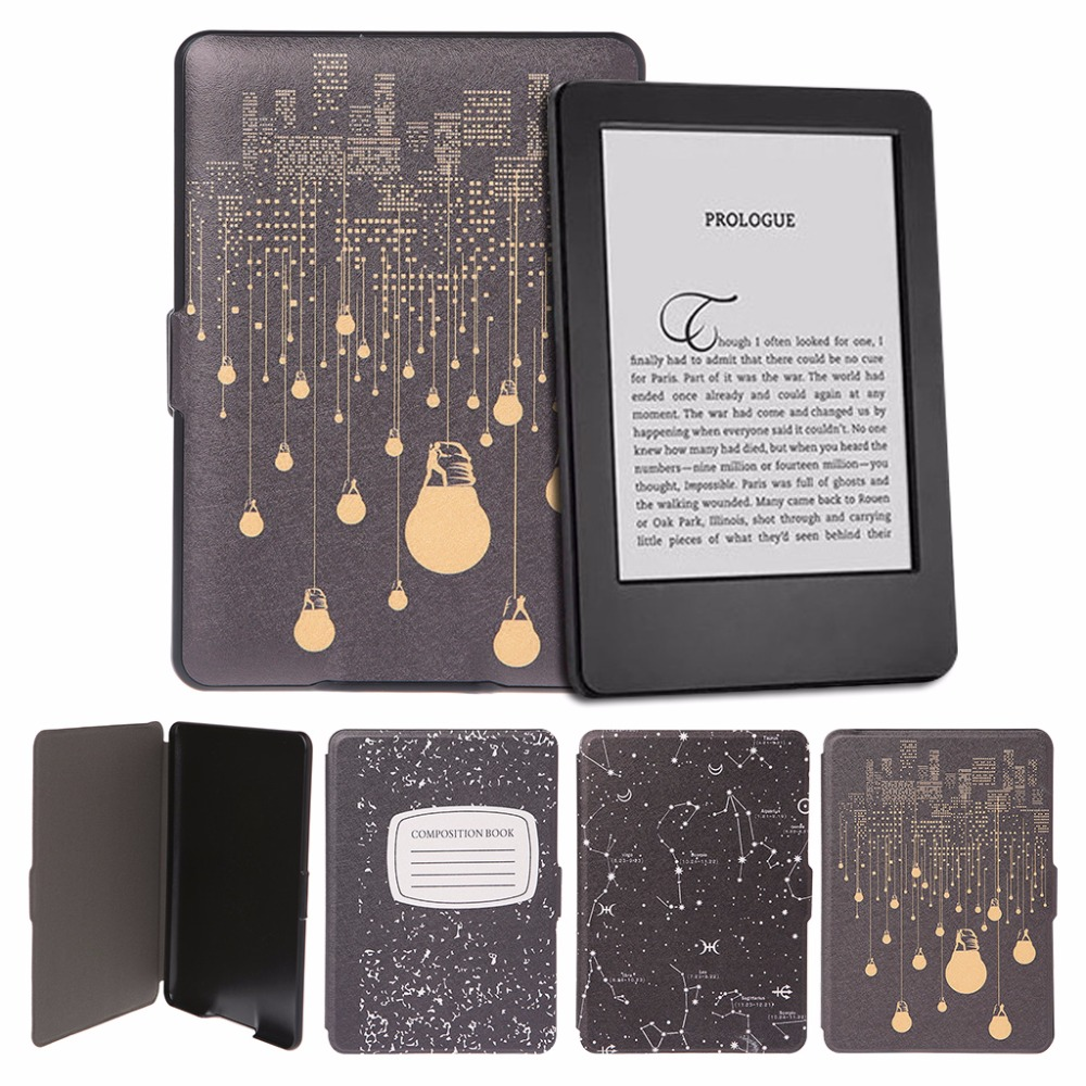 Faux Leather Protective Cover Case Tablet Stand For Amazon Kindle Paperwhite 1/2/3 e-Books Covers Good Quality C26 xx fashion pu leather cute case for amazon kindle paperwhite 1 2 3 6 e books case stand style protect flip cover