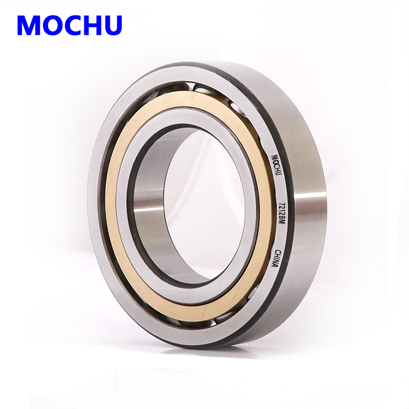 1pcs MOCHU 7312 7312BM 60x130x31 7312BECBM 7312-B-MP Angular Contact Ball Bearings ABEC-3 Bearing High Quality Bearing mochu 22213 22213ca 22213ca w33 65x120x31 53513 53513hk spherical roller bearings self aligning cylindrical bore