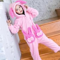 Children Pajamas Animal Pajamas Girls Winter Kids Pijama Infantil Pyjama Enfant Christmas Pajamas Fille Clothes Coats + Pants 12