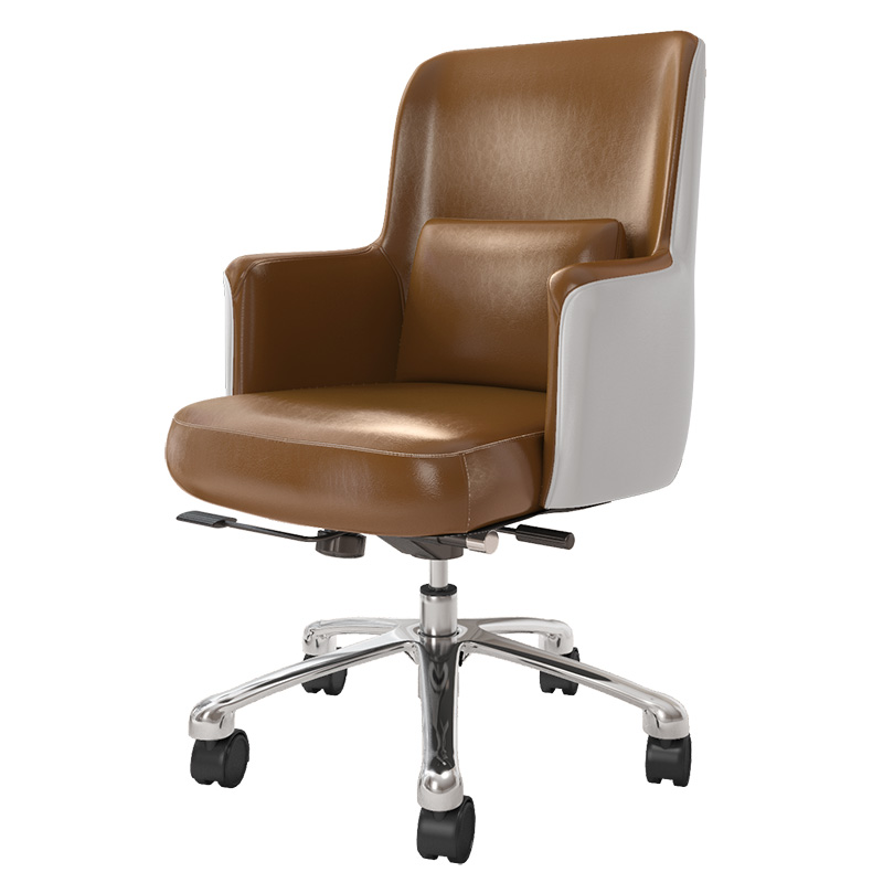 Study Chair Nordic Computer Chair Simple Modern Lifting Rotary Chair  American Boss Office Seat Comfortable Padded Cushion