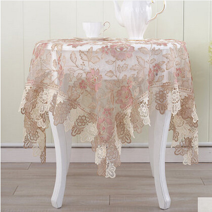 European Style Lace Tablecloth Table Cloth Fabric Table Cloth Cover Towels  Round Table Cloth TV Cabinet Towel Cloth In Tablecloths From Home U0026 Garden  On ...