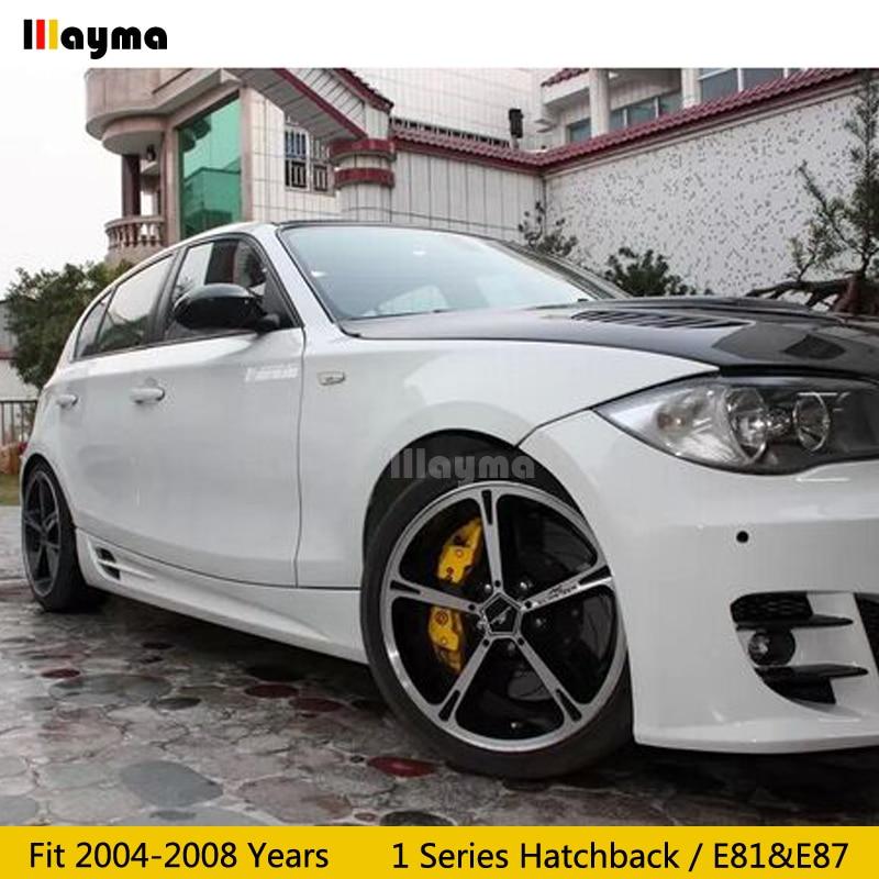 Carbon Fiber Mirror cover For BMW 1 Series Hatchback 116i 120i 130i 135i 2004-2008 year E81 E87 Car rear mirror cap stick-on