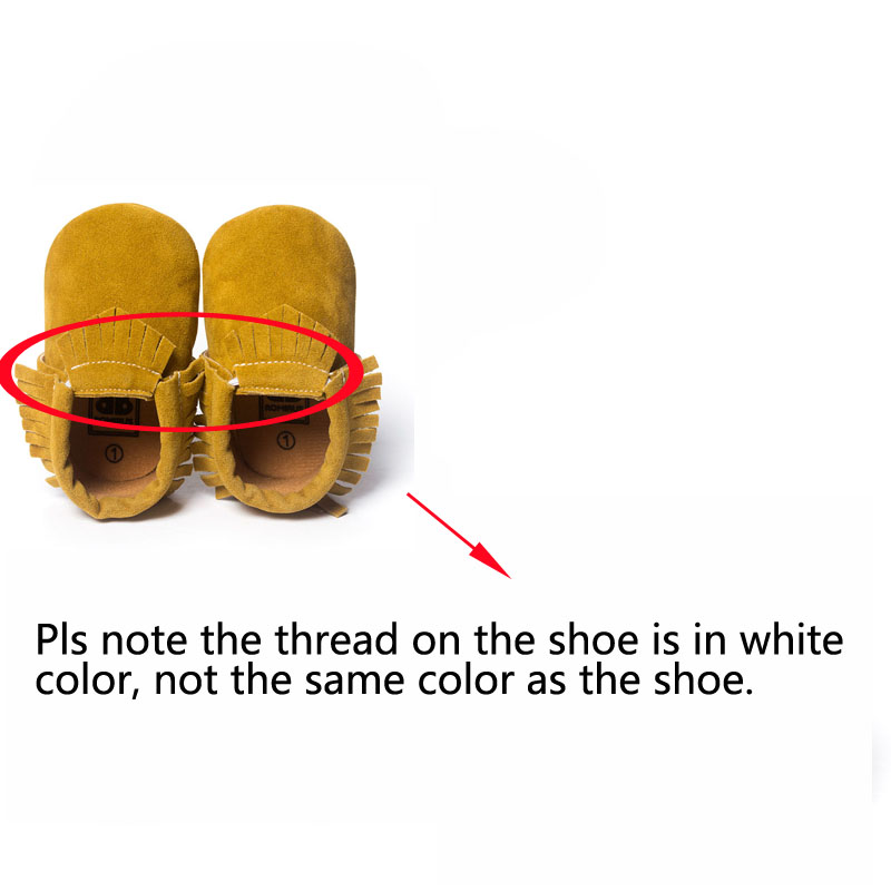 Hot PU Suede Leather Newborn Baby Boy Girl Baby Moccasins Soft Moccs Shoes Bebe Fringe Soft Soled Non-slip Footwear Crib Shoe | Happy Baby Mama
