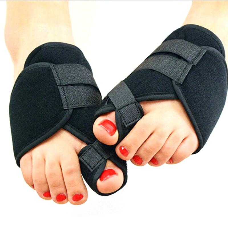 2pcs Soft Protector Bunion Corrector Toe Separator Splint Correction Medical Device Foot Care Pedicure Orthotics Protector