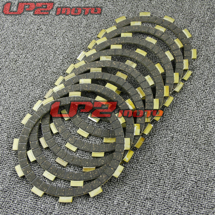 For <font><b>Yamaha</b></font> <font><b>XJ600</b></font> S/N 1992-2003 YX600 1986-1990 Paper Based Clutch Friction Kit Disc Plates Set Motorbike <font><b>Parts</b></font> Accessories image