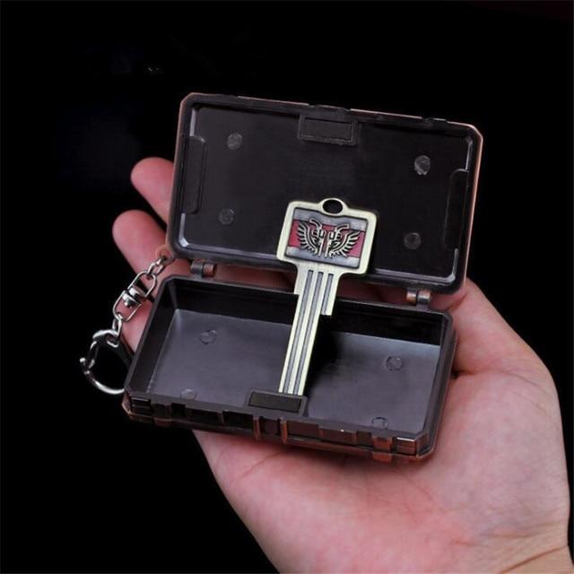 Брелок и ключ из игры Playerunknown's Battlegrounds 3