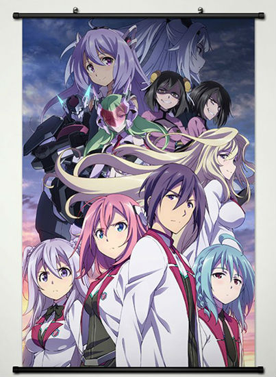 Wall Scroll Poster Fabric Printing For Anime The Asterisk -7870