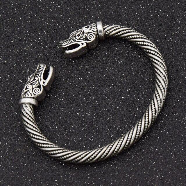 Bracelet tête de loup  5